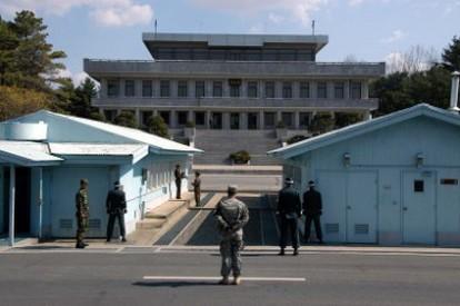 Negotiation Shack - Panmunjeom, DMZ Korea