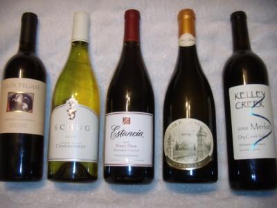 Top 5 wines under $20